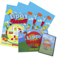 Lippy and Messy - Songs and Games 1, 2, 3, ABC + dárek