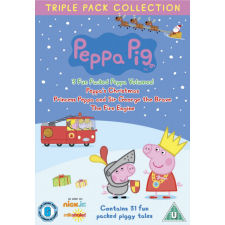 Peppa Pig - Triple Pack 4 (3x DVD film)