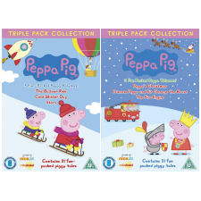 Peppa Pig - Bundle 2 (6x DVD film)