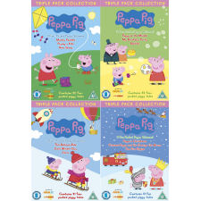 Peppa Pig - Bumper Pack (12x DVD film)