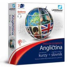 LANGMaster Angli�tina - ENGLISH ELEMENTS - kurz a studijn� slovn�k + d�rek