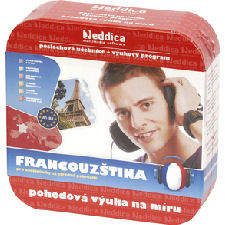 EDDICA Francouz�tina do ucha - pack 6CD + d�rek
