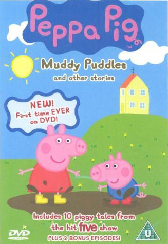 Angli�tina pro d�ti - Peppa Pig - Muddy Puddles and other stories (1x DVD film)
