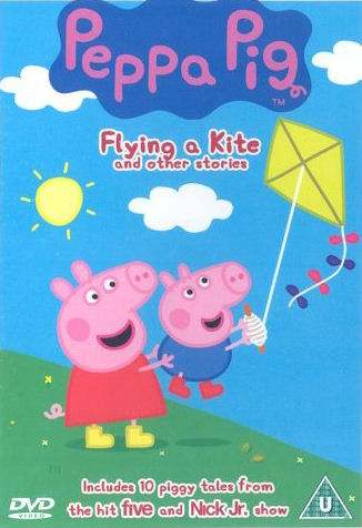 Angličtina pro děti - Peppa Pig - Flying A Kite and other stories (1x DVD film)
