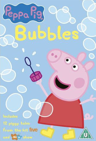 Angličtina pro děti - Peppa Pig - Bubbles and other stories (1x DVD film)