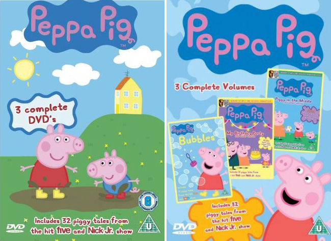 Angličtina pro děti - Peppa Pig - komplet (6x DVD film)